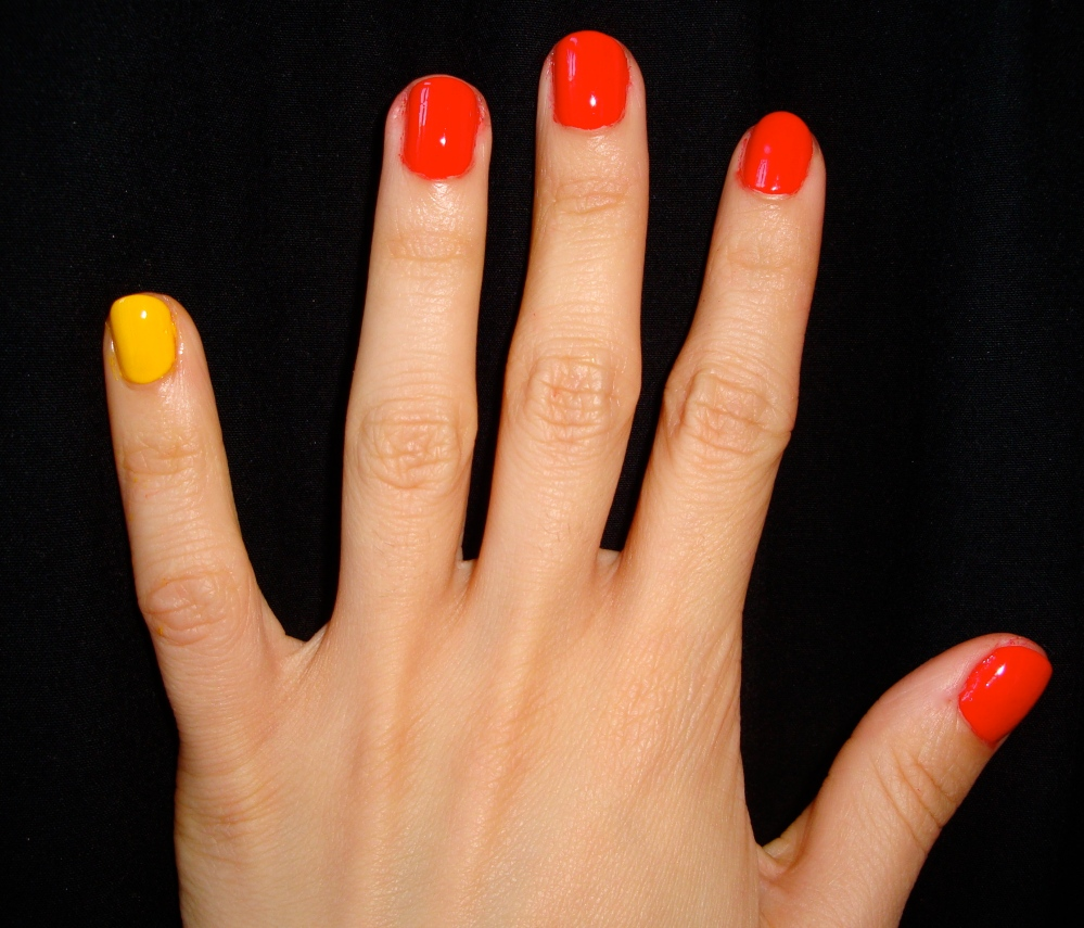 The Skittle Manicure: Making the Most of Our Nail Polish Collections (3/6)