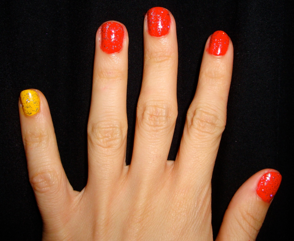 The Skittle Manicure: Making the Most of Our Nail Polish Collections (4/6)
