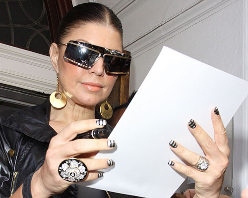 Nail Inspiration, Part III: Fergie (2/6)