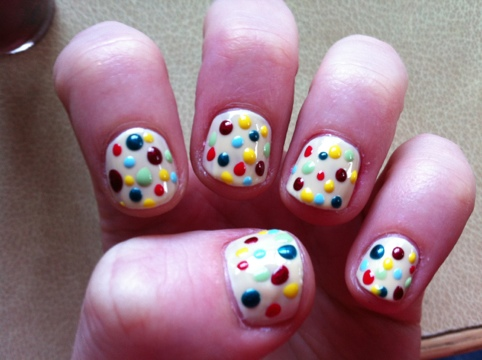 March Manicure Madness, Day Twenty Seven: Emma Bridgewater nails (5/6)