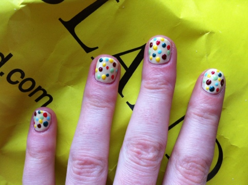 March Manicure Madness, Day Twenty Seven: Emma Bridgewater nails (6/6)
